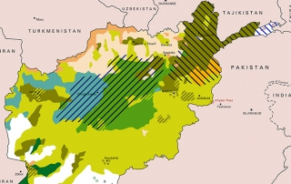 Ethnolinguistic Map of Afghanistan