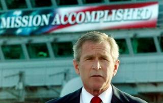 George Bush Mission Accomplished