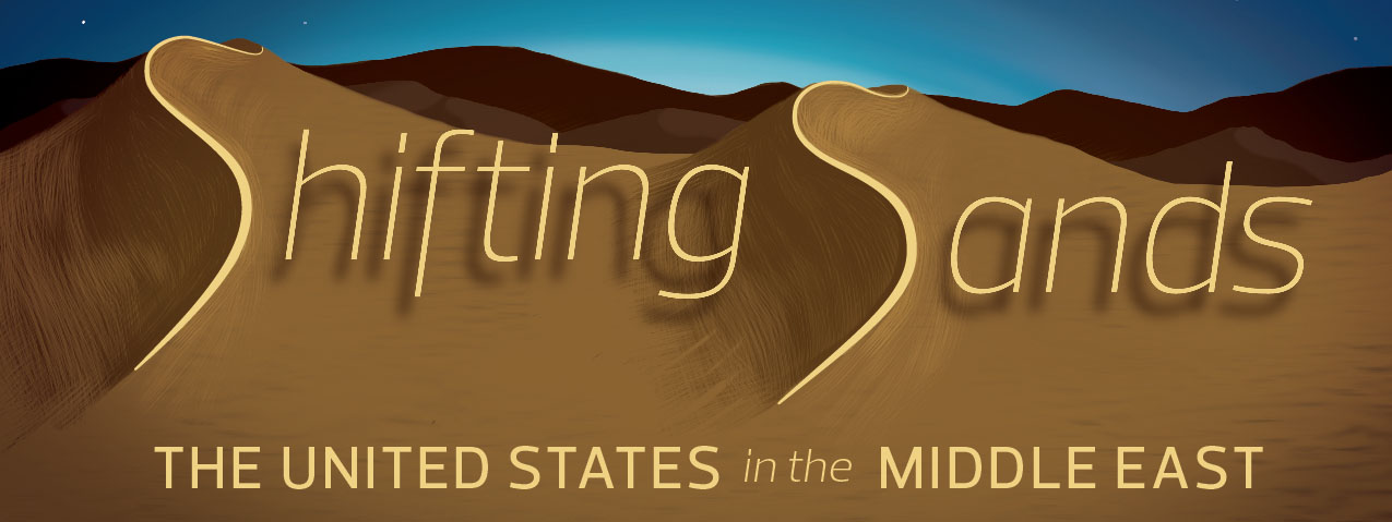 Shifting Sands: The United States in the Middle East Graphic